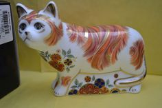 "Royal Crown Derby Paperweight ""Sugar"" Cat Exclusive to Members of RCD in 2011 | eBay"