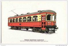 Tranvía de Dallas TX 1913, USA