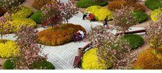 Public Park on a Roof by Claude Cormier «  Landscape Architecture Works | Landezine