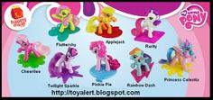 My Little Pony Names 1980s | McDonald's Toys in Mexico