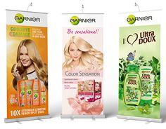"""Check out new work on my @Behance portfolio: """"Promo materials for Garnier"""" http://be.net/gallery/36966035/Promo-materials-for-Garnier"""