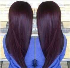 Are you looking for Dark Hair Color For Red Burgundy Violet Purple Hair Colors? See our collection full of Dark Hair Color For Red Burgundy Violet Purple Hair Colors and get inspired! Black Cherry Hair Color, Cherry Hair Colors, Fall Hair Colors, Hair Color Purple, Brown Hair Colors, Chocolate Cherry Hair Color, Dark Cherry Hair, Dark Plum Hair, Plum Color