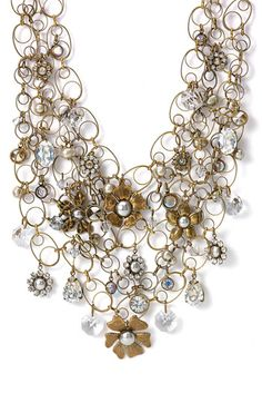 Liz Palacios Crystal Floral Statement Necklace. Liz Palacios Crystal Floral ...  shop.nordstrom.com