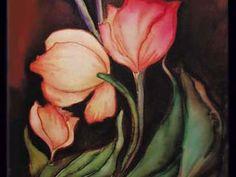 Online  Silk Painting Class