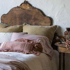 Elegant Home Decor, Elegant Homes, Cheap Home Decor, Bedroom Vintage, Vintage Bedding, Antique Bedroom Decor, Antique Bedrooms, French Bedroom Decor, Antique Headboard