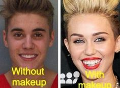 Poor Justin!  You guys quit picking on her!