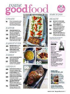 OVERNIGHT OATS (BBC Good Food), 01 Mar 2018 Bbc Good Food Recipes, Overnight Oats, Beef, Magazine, Healthy, Meat, Magazines, Health, Steak