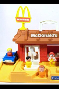 Fisher Price Little People McDonalds