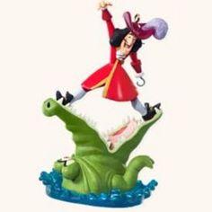 2008 Hallmark Ornament Disney's Peter Pan Tick-Tock Croc #Hallmark
