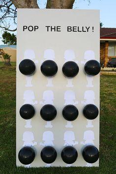 Baby Belly Gender Reveal Dart Game #babystuff2017 #babystuffgenderneutral