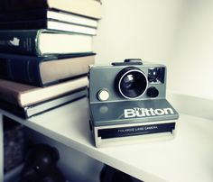 The Button Camera Polaroid Camera