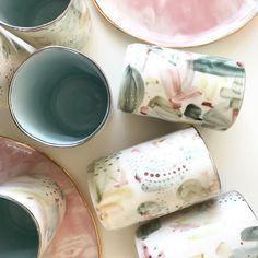🌷🌱🌿🌱🌷  #rozenthal #porcelain #homedecor #handpainted #unique #rozenthalceramics #pastel #springcollection #spring #porcelaincup #cup #mugs #balticdesign #europe #latviandesign #handmade #ceramicstudio #ceramicdesign #ceramics #platinum #gild #