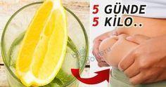 Maydanoz ve Limonlu Yağ Yakıcı Kilo Verme Kürü | Bilgi Doktoru