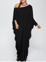 SHARE & Get it FREE | Batwing Sleeve Skew Neck Plus Size Maxi DressFor Fashion Lovers only:80,000+ Items • New Arrivals Daily • Affordable Casual to Chic for Every Occasion Join Sammydress: Get YOUR $50 NOW!