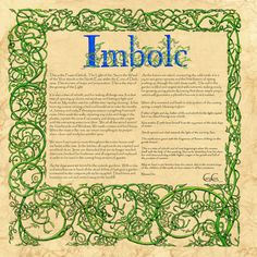 Imbolc, Book Of Shadows by *Brightstone on deviantART