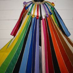 JOSEPH Technicolour Dreamcoat LONG COLOURFUL COAT  ALL CHILD SIZES