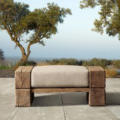 The Aspen Collection Ottoman.