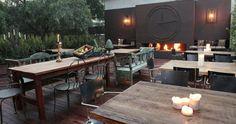Restaurante Dime, Barcelona. local de moda, super terraza.