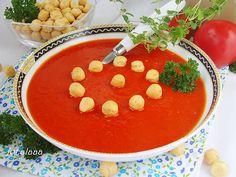 Ala piecze i gotuje: Krem pomidorowo paprykowy