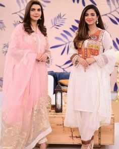 Ladies Kurti Design, Pakistani Actress, Anarkali, Sari, Actresses, Celebrities, Modern, Design Styles, How To Wear