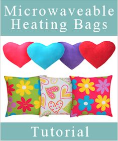 Microwaveable Heating Bags - Follow me for more!