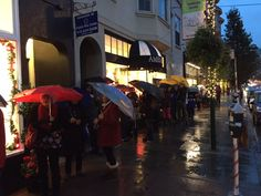 Fabulous party and grand opening of our New Noe Valley location last night! More than a 100 person line in the pouring rain waiting to get in to the brand new store. Thanks to all Ambi fans for helping us celebrate!