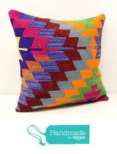Hand woven kilim pillow cover 18x18 inch (45x45 cm) Oriental Kilim pillow cover Home Decor Natural Pillow cover Accent Kilim Cushion Cover https://www.amazon.com/dp/B01N4FNM5Z/ref=hnd_sw_r_pi_dp_Fx9vyb4EAWPFF #handmadeatamazon