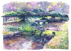 Garden Watercolours on Behance