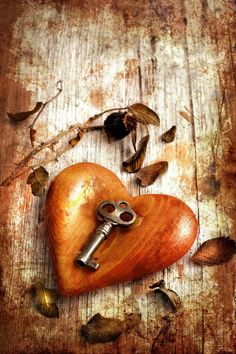 The key to my wooden heart