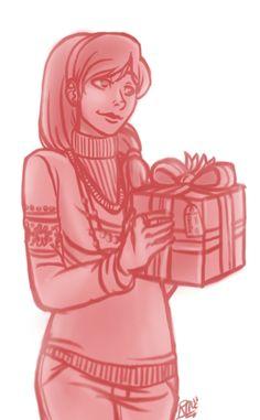 "PJO Countdown to Christmas 5/25 Silena by ""lazyperfs"""
