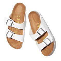 Check out Arizona Birkenstock at goop.com!' Birkenstock Sandals, Birkenstock Arizona, Most Comfortable Sandals, Sandals Outfit, Sport Sandals, Women Sandals, Shoes Women, Reading Glasses, Walk On