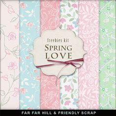 Far Far Hill - Spring Love Freebies Kit