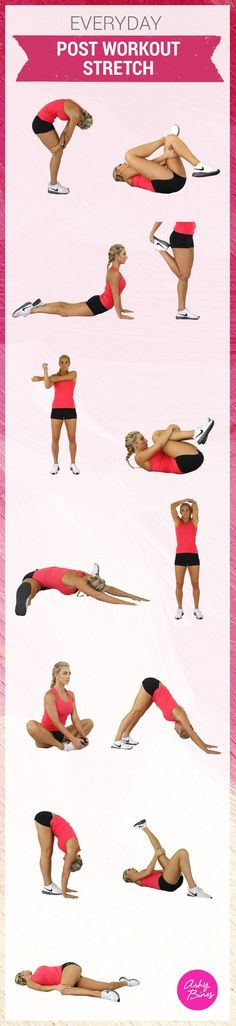 Your Post Workout Routine Needs This One Supplement Everyday post workout stretches!