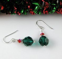 Check out this item in my Etsy shop https://www.etsy.com/listing/60555529/christmas-green-and-red-simply-swarovski