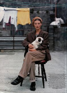 Kate Moss...very stylish