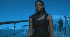 Renée Elise Goldsberry on How Altered Carbon Busts Race and Gender Barriers - Renee Elise Goldsberry Interview Sci Fi Movies, Movie Tv, Netflix Uk, Altered Carbon, Joel Kinnaman, Post Apocalyptic Fashion, And Peggy, Film Serie, I Love Girls