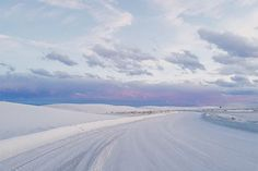Location:  White Sands, New Mexico  Why You Have To Go: The view is unlike anything you have ever experienced; you will see nothing but bright white sand dunes for hundreds of miles.   Best Time Of Year: August through October  Pro Tip: After exploring White Sands, head to Double Eagle in the nearby historic town of Mesilla for dinner and drinks.
