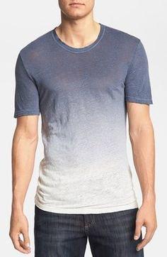 Men's ombre shirt