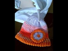How to Loom Knit a Flower - EASY - YouTube