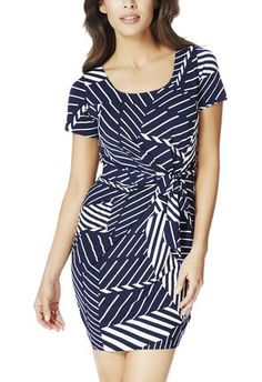 Love wearing dresses in the #summer - love that this style can be worn to work or to a day affair #justfabapparel