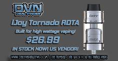 Tornado RDTA | Capable of 300w! | $26.99