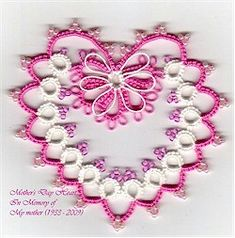 Patterns Free Bead Tatting | jon yusoff of jon s patterns page shared the pattern for this lovely ...