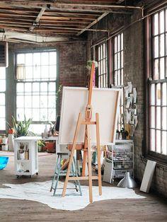 Un rincón de pintura