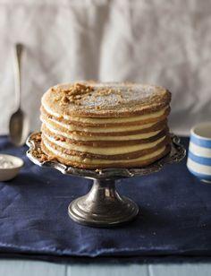 * Jewish Custard Tart - South African recipe.