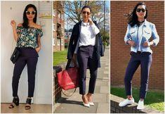 Ways to wear cigarette pants