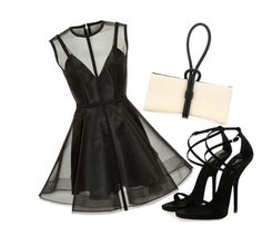 """""""Bajo la luna"""" by ivon-hernandez on Polyvore featuring Alex Perry, Tom Ford and Giuseppe Zanotti"""