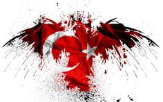 Flag of Turkey wallpaper Turkey Flag, Turkey Country, Trash Polka Tattoo, City North, Wallpaper Pictures, Mobile Wallpaper, Abstract Expressionism, Red And White, Geek Stuff