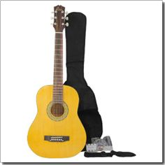 Aileen 38 Yellow Acoustic Guitar AF227L + Gigbag + Tuner + Strap + extra strings