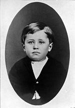 Wilbur Wright, in 1876