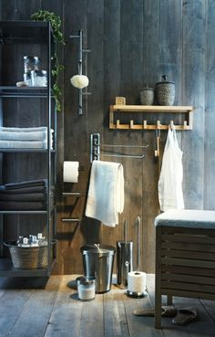 Organize everything in your bathroom with the trendiest bath accessories.